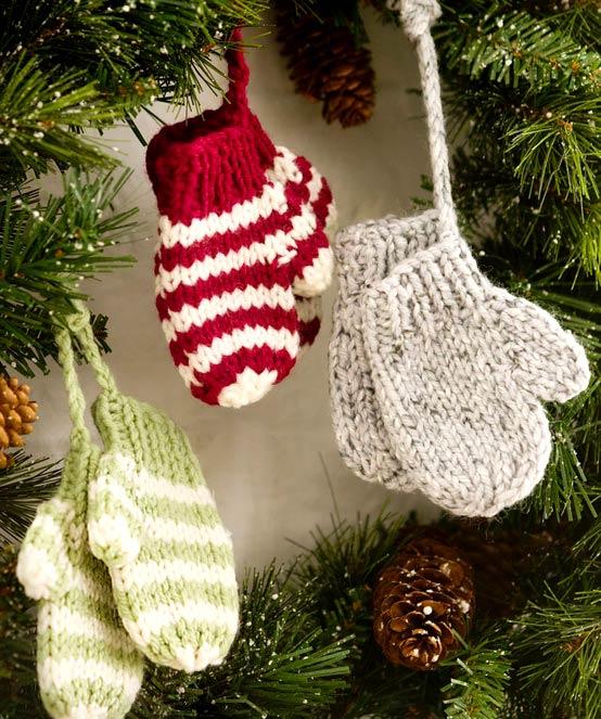 Вязанные подарки своими руками на новый год