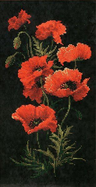 По фен-шуй красные цветы