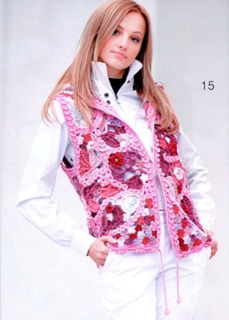pink  waistcoat